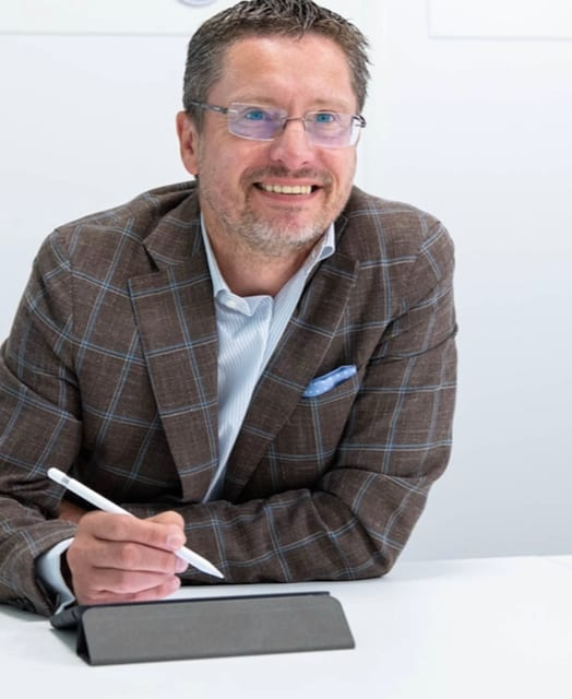 Jorg Geerlings avec iPad