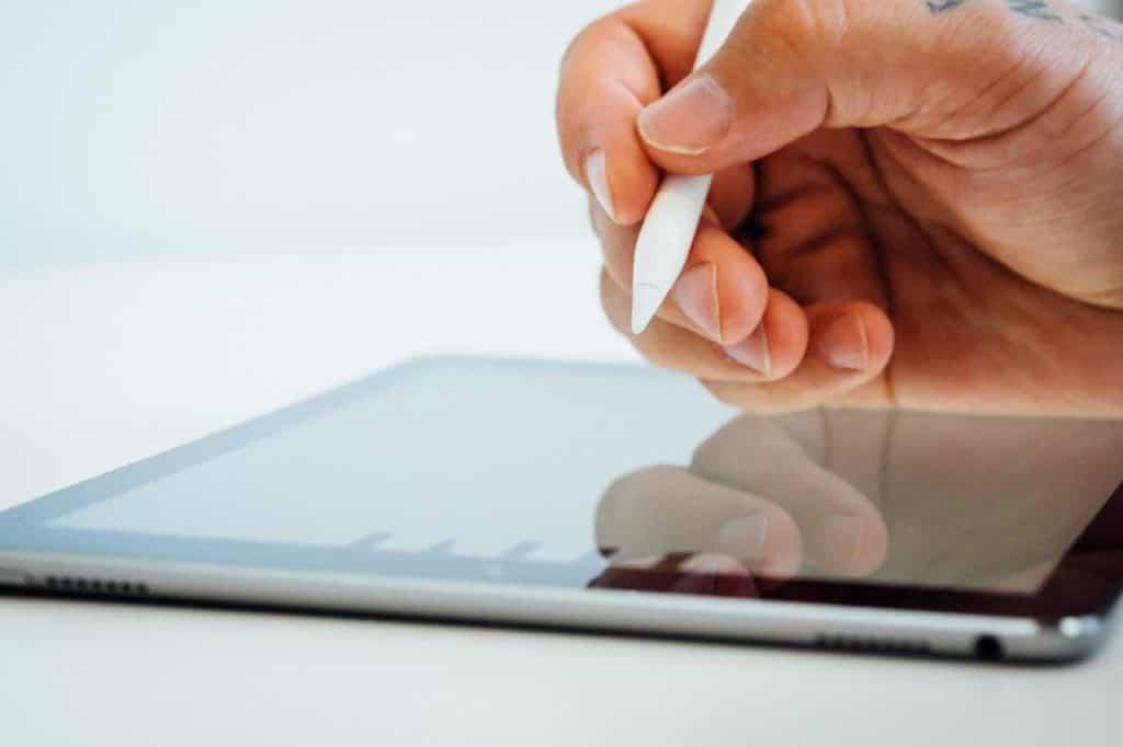 Apple Pen et iPad