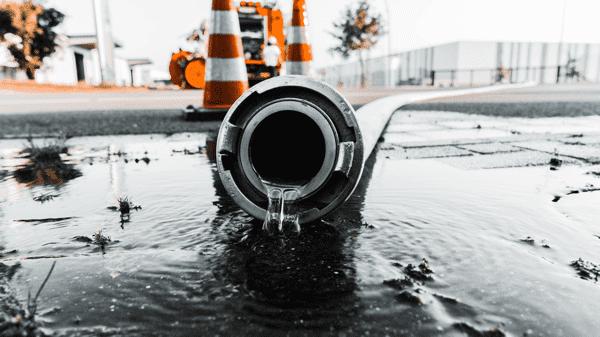 fuite d'eau